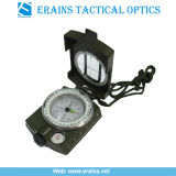 Brújula militar al aire libre y el Ejército de Metal Lensatic Brújula la brújula (ES-OP-C02)