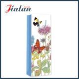 Coloré Papillon Matte Lamination Deux côtés imprimé papier sac de vin