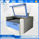 Máquina acrílica de madeira do laser do CNC da máquina de estaca da gravura do laser do couro