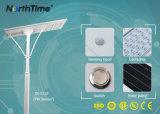 Le jardin allume la lampe intelligente solaire du contrôle de temps de réverbère DEL