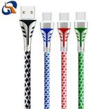 Cavo di dati di carico Braided in lega di zinco del USB del USB per Huawei (Tipo-c)