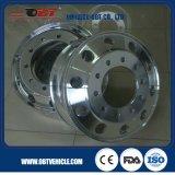 Tyre 12r22.5のための重いTruck Alloy Aluminum Wheel Rim 22.5X9.00