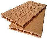 composé en plastique en bois de Decking de 72*10mm WPC