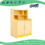 Jeu de rôle pour les enfants de maternelle réfrigérateur Armoire de stockage du bois (HG-4406)