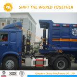 2 EIXOS 35cbm Dumper semi reboque Caixa de veículo de reboque de descarga do reboque para transporte de Pedra