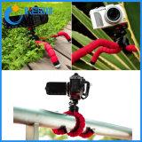소형 삼각 디지탈 카메라 이동할 수 있는 셀룰라 전화 홀더 대 유연한 낙지