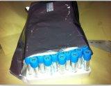 세륨과 FDA에 의하여 증명서를 주는 진공 혈액 수집 관 (파란 모자)