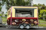 حارّ عمليّة بيع يعدّ وجبة خفيفة كهربائيّة [ريكشو] طعام عربة