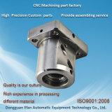 機械機械で造られた鋼鉄部分を製粉する予備の高精度CNCをカスタマイズしなさい