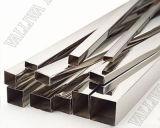 La superficie brillante de tubo de acero inoxidable 316