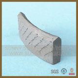 드릴링 돌 콘크리트 (SY-DCBS-1088)를 위한 크라운 다이아몬드 코어 비트 세그먼트