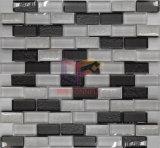 Branco e Cinza Parede correspondência utilizadas Mosaico Mosaico (CFS703)