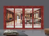 Porte coulissante de pleine trappe en aluminium de variété