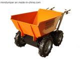 El aceite de palma Mini Transportador con cadena 4WD Drive