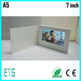Супер тонкий 4.3 поздравительная открытка дюйма TFT подгонянная экраном видео- для рекламировать