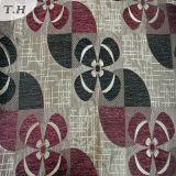 Prodotto intessuto floreale del Chenille con il cappotto (fth31899)