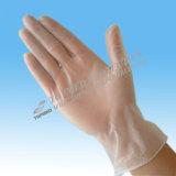 Wegwerfvinylprüfungs-Handschuhe mit pulverisiert