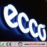 단단한 소매상인 LED 가벼운 표시를 형성하는 옥외 강한 고품질 아크릴