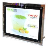 Cadre léger mince Advertisng de photo de DEL de bâti de menu magnétique de restaurant