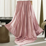 Thx Silk Pink Color Silk Summer Cool Throw Blanket
