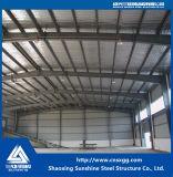 Estructura de acero comercial construcción con paneles sándwich