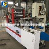 Máquinas de impressão que fazem a guardanapo do tecido da tabela a planta e a maquinaria industriais
