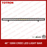 """40 """"120W Single Row Curved LED hors route Light Bar pour 4X4 (TLB1120X)"""