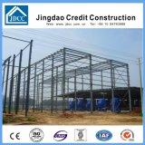 Taller de la estructura de acero de la pared y de la azotea de la placa de acero del color