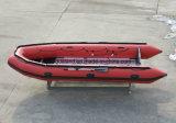 O Parque Aquático Aqualand 16,5 pés 5m de barco a motor de salvamento inflável de borracha (aql500)