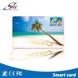 Custom pasiva TK4100 transparente de PVC blanco 125kHz ISO RFID Card
