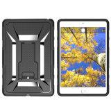 Caja de la computadora portátil de Crashproof Plastic+Silicone con Kickstand para el iPad mini 4