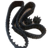 Piste en caoutchouc de mini agriculture (170*64*42) avec des pignons