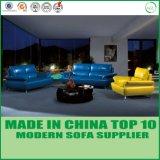Canapé sectionnel moderne en cuir véritable moderne