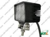 EMC 18W 6LED de Automobiel LEIDENE Lamp van het Werk, Drijven van de LEIDENE van de Straal van de Vloed Rechthoekige Lichte, Ronde het LEIDENE Offroad Lamp