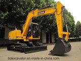 Excavadores 8t de la correa eslabonada del motor de Baoding Yanmar para la venta
