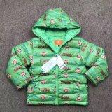 Пальто зимы детей, вниз куртка