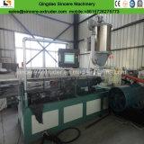 La costilla interna del HDPE realzó la fabricación espiral del tubo del drenaje que hacía la máquina