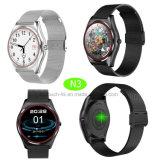 Reloj elegante de Mtk2502c&Android/Ios Bluetooth con la cámara y el G-Sensor