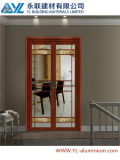 6063-T5 Classical Casement Aluminum Door