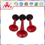Spiral Red Three-Way ABS Air Horn