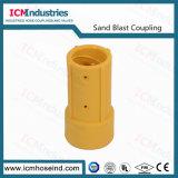 Sandblast '' accoppiamento di tubo flessibile Accoppiamento-Mhe rapidamente 1-1/2 di nylon con la guarnizione