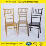 Apilamiento de muebles de banquete de boda de hierro silla de aluminio