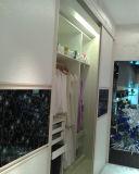 Moderne hohe Glanz 2016 Slidding Tür-Garderobe