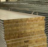 Thermische Isolierungs-feuerfestes Felsen-Zwischenlage-Panel für Haus-Wand