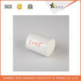 La impresión del código de barras del papel de rodillo escribe la escritura de la etiqueta de la etiqueta engomada de Digitaces del vinilo de la impresión