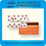 Cartões impressos costume do PVC com o cartão de microplaqueta Sle5528