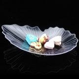 식기 플라스틱 접시 처분할 수 있는 접시 잎 접시