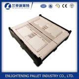 caixa de pálete 700L plástica exalada Foldable para a agricultura