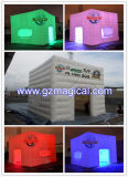 LED gonflable Mini Stand Photo Booth cubes Trade Show tente pour la vente (MIC-083)