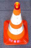 LED Light Refractive Reflexion Traffic Cones pour la sécurité routière (CC-AB60)